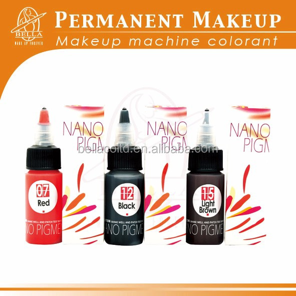 Permanent makeup ink tattoo pigment