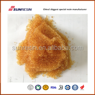 Industrial water softening cation resin similiar to DIAION SK1B