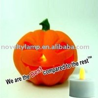 NEW PRODUCT 3 INCH LED CANDLE PUMPKIN LAMP