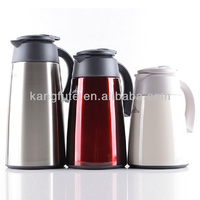 1200ml stainless steel 18/8 double wall commercial tea pot