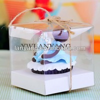Transparent pvc Cake boxes disposable plastic cake container box
