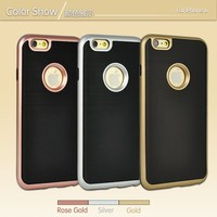 China phone case manufacturer shockproof armor hybrid tpu pc 3 in 1 phone case for iphone 6 6s