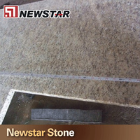 Newstar hot sale giallo ornamental granite kitchen countertop