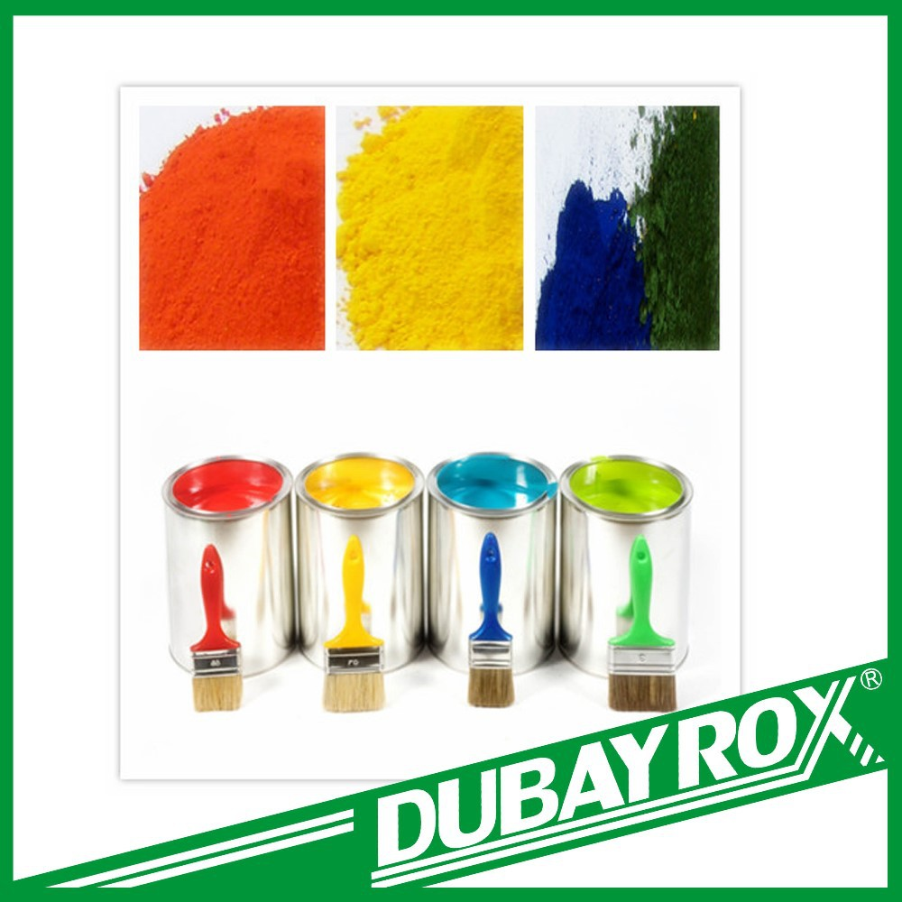 2016 Colorful Powder Iron Oxide Pigment for Coating/Concrete