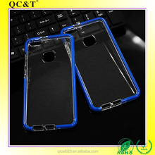 2017 New Hot TPU+TPE Soft TPU Quality Armor Case Clear Transparent Mobile Phone Cover for Huawei P10 Lite
