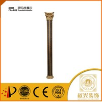IIndoor Middle East style Hotsell plastic my order decorative resin polyurethane roman column for shops