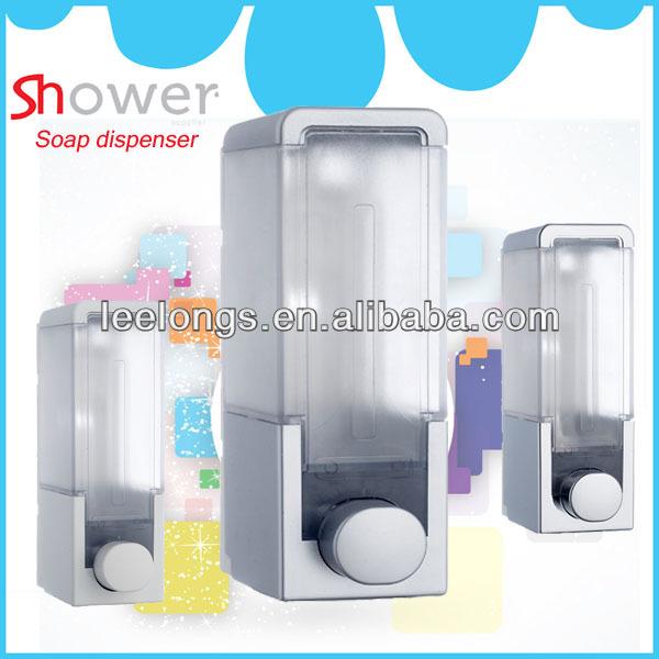 chrome plated soap dispenser