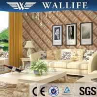 YS10304 new product living room latest 3d leather design wallpaper