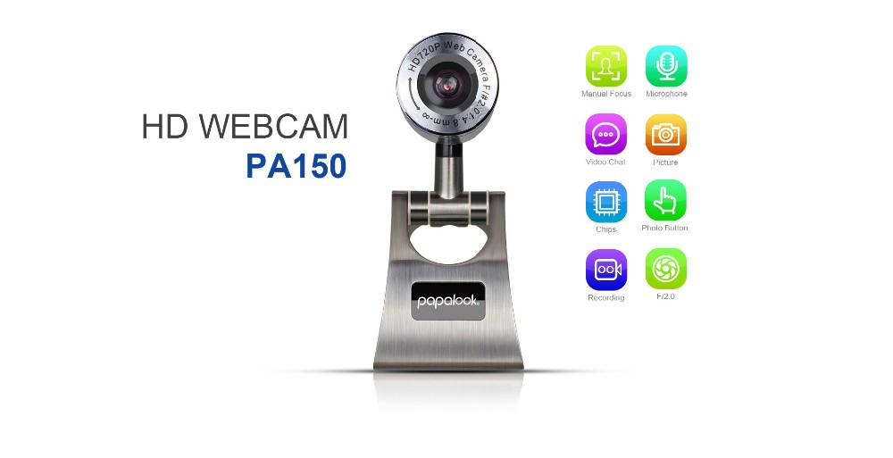 2016 HD webcam cover for laptops , pc camera computer webcam with high-resolution