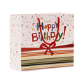 Custom Printed Birthday Gift Paper Bag With Handles