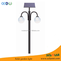 European Quality Solar Garden light with yingli solar panel