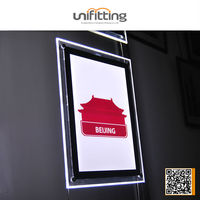 OEM elegant design and durable a frame signs for advertising