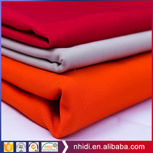 Wholesale dyeing textiles 80/20 200g poly cotton twill fabric