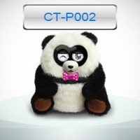 singing and dancing electronic panada pet, using app interactive with kids