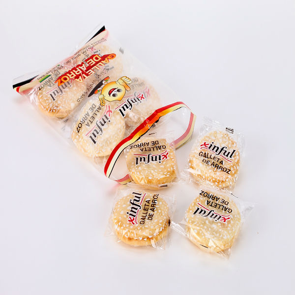 leisure puffed food holiday gifts fairy rice cake