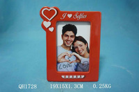 Ceramic Love Photo Frame As Gifts