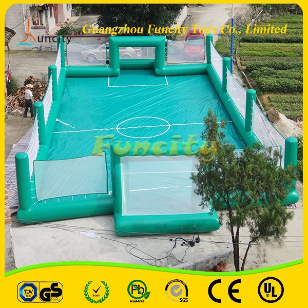 0.6MM PVC Tarpaulin Inflatable Water Soap Soccer Field