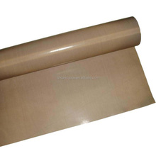 Trade assurance supplier antistatic Thermal insulation e-glass fiberglass fabric coated with PTFE