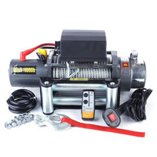 factory design electric winches 4x4 car towing winch