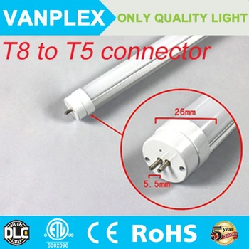 5 Years Warranty DLC CE RoHS Approval Fluorescent Lamp Replacement smd 2835 T5 LED Tube