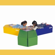 HuaCang hot sale indoor playground equipment , PVC+ sponge , soft play for kids