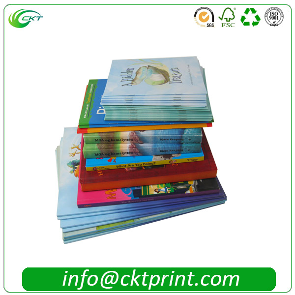 Different size full coloring and high quality children book printng by offset printing