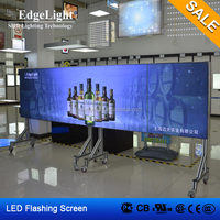 Edgelight AF45 customized LED module , aluminum extrusion led light display advertising board , CE/ROHS SALE LED display
