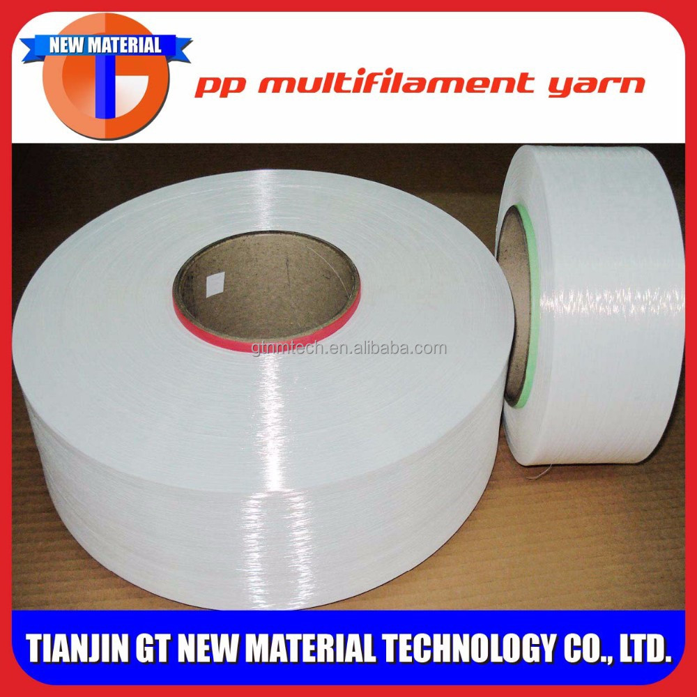 100%pp yarn multifilament, good polypropylene fiber price, pp filament yarn distributors