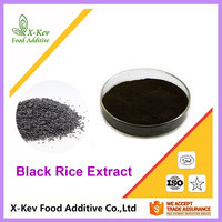 Wholesale 100% Natural Black Rice Extract 25% Anthocyanin