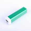 Hot sale 1200mAh 2000mAh 2600mAh lipstick portable power bank gift box packaging for promotion