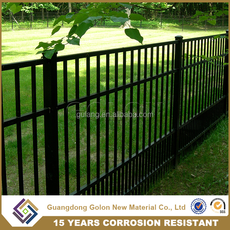 steel lawn fence, american fence, children playground fence