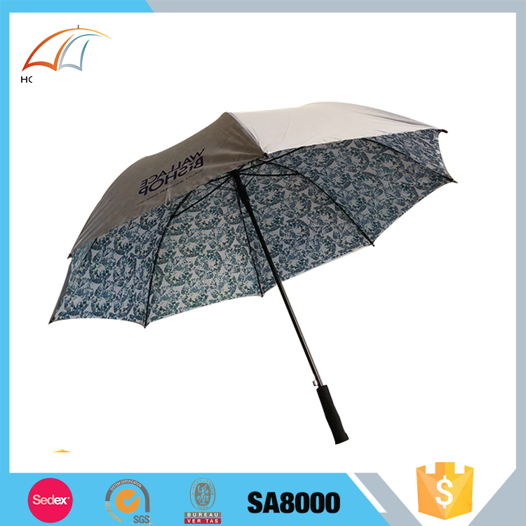 Wholesale China Factory double layers golf umbrella with air vents