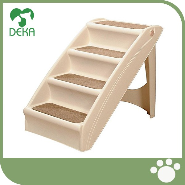 2017 High Quality Folding Dog Cat Animal Portable Steps Ladder Pet Stairs