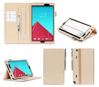With Card Holder Design Waterproof Tablet Case For LG G Pad VK 815