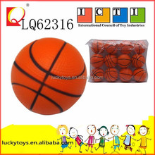 6.3CM New product Stress pu ball basketball Mini PU Stress ball