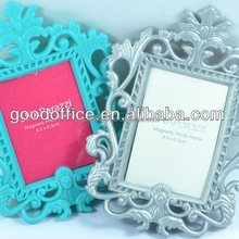 Hot gift Soft PVC baby magnetic picture frame with OEM