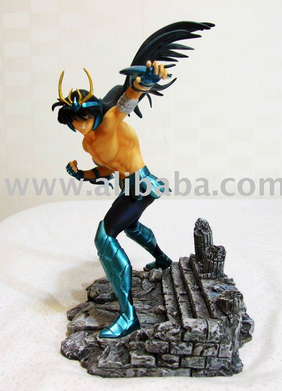Saint Seiya Dragon Shiryu RESIN Statue Limited Edition