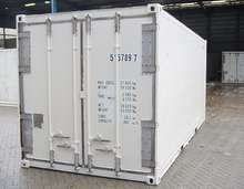 Brand new ISO 20ft refrigerated lorry containers in shanghai,china