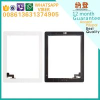 Original quality repair broken touch screen glass for ipad 2 glass digitzer ship by DHL or UPS