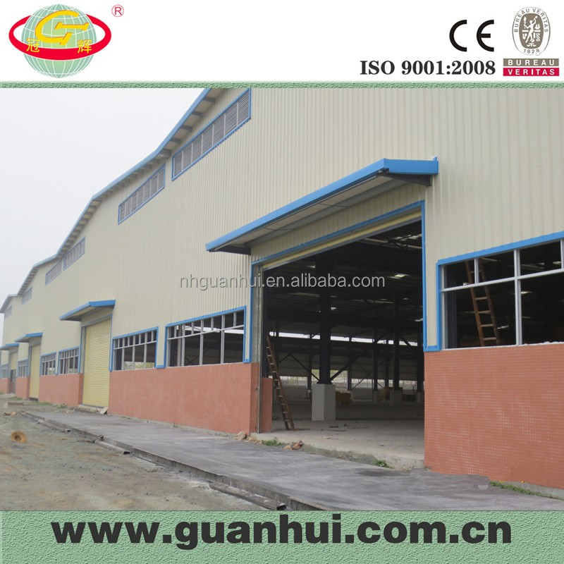 Pre-fabricated industrial steel warehouse buildings for sale