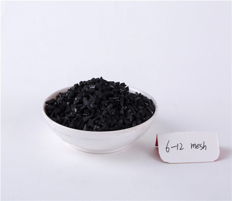 Iodine 1000-1100mg/g Coconut Shell Based Activated Carbon for Gold Mining Industry