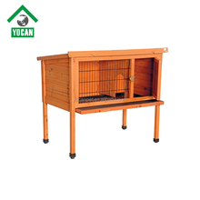 outdoor cheap custom luxury handmade wooden rabbit hutch