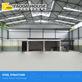 China commercial building material complete auto part parts active metal structure warehouse