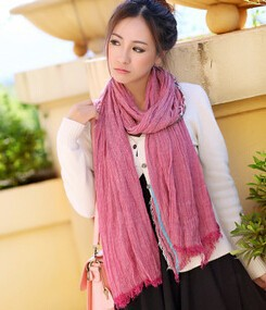 Korean trend nice fold scarves alibaba wholesale good quality women scarf