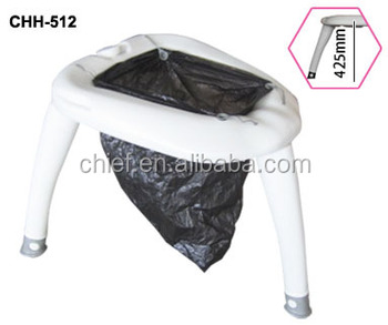 E-POT with high legs Wonderful Easy Using Camping Toilet