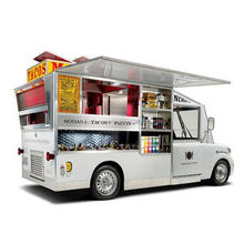 Top selling fast food trailer for sale
