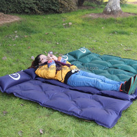 folding automatic inflatable air mattress mat camping tent sleeping Mattress