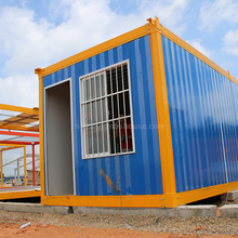 CE prefab ready made wooden container house made in china