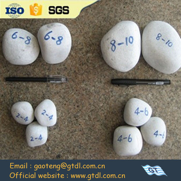 99.31% Silica pebble stones with low price high hardness for ball mill grinding