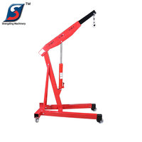 Factory price 3T mobile portable car lift mini crane for sale